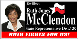 Support Ruth McClendon